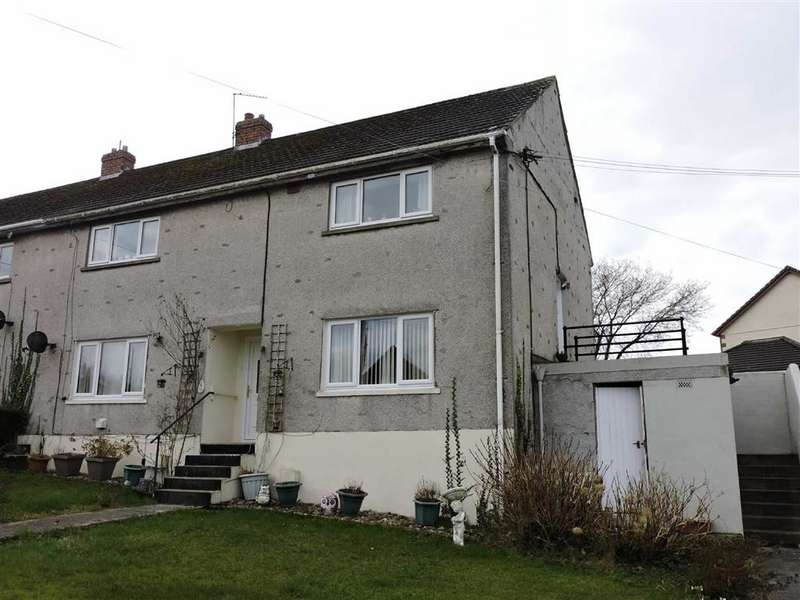 2 Bedrooms Flat for sale in Brynmeurig, Tregynwr