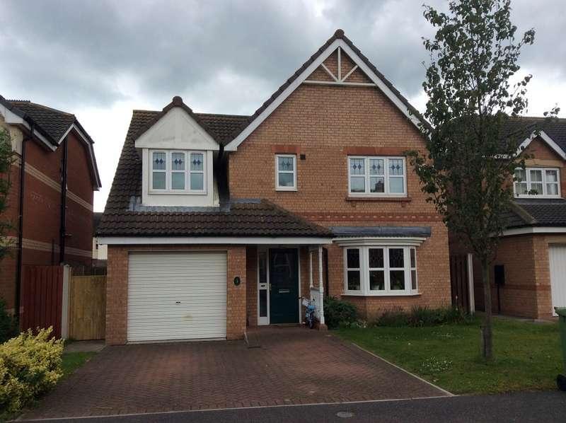 4 Bedrooms Detached House for rent in Salisbury Close, Morton, Gainsborough DN21