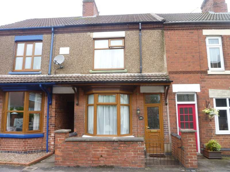2 Bedrooms Terraced House for sale in Hermitage Road, Whitwick LE67