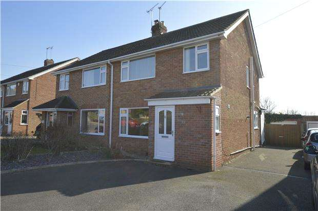 3 Bedrooms Semi Detached House for sale in Delabere Road, Bishops Cleeve, GL52