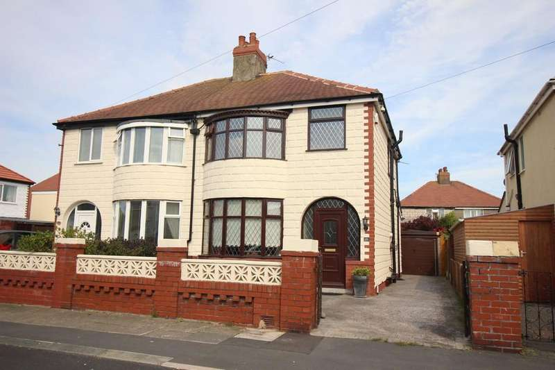 3 Bedrooms Semi Detached House for sale in Lyddesdale Avenue, Thornton Cleveleys