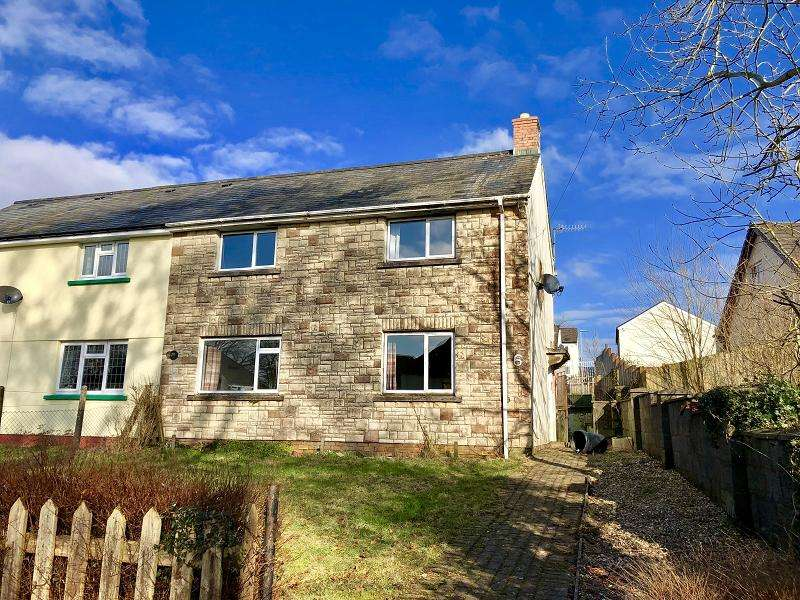 3 Bedrooms Semi Detached House for sale in Berthllwyd , Llanwrtyd Wells, Powys.