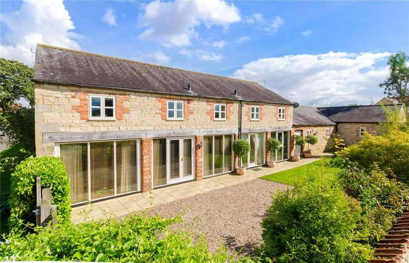 4 Bedrooms Detached House for sale in West Street, Osbournby, Sleaford, Lincolnshire, NG34