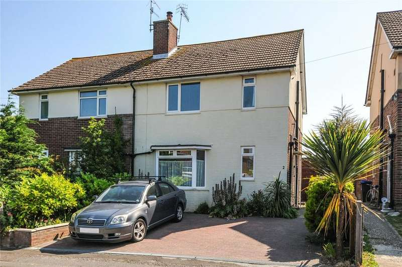 3 Bedrooms Semi Detached House for sale in Colebrook Close, Worthing, West Sussex, BN11