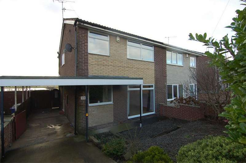 3 Bedrooms Semi Detached House for sale in Springfield Crescent, Darfield, BARNSLEY, South Yorkshire