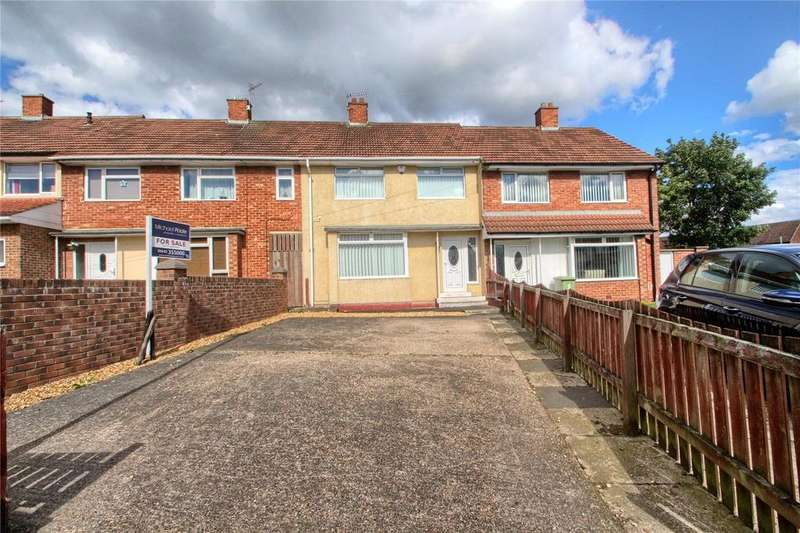 3 Bedrooms Terraced House for sale in Denton Close, Hardwick
