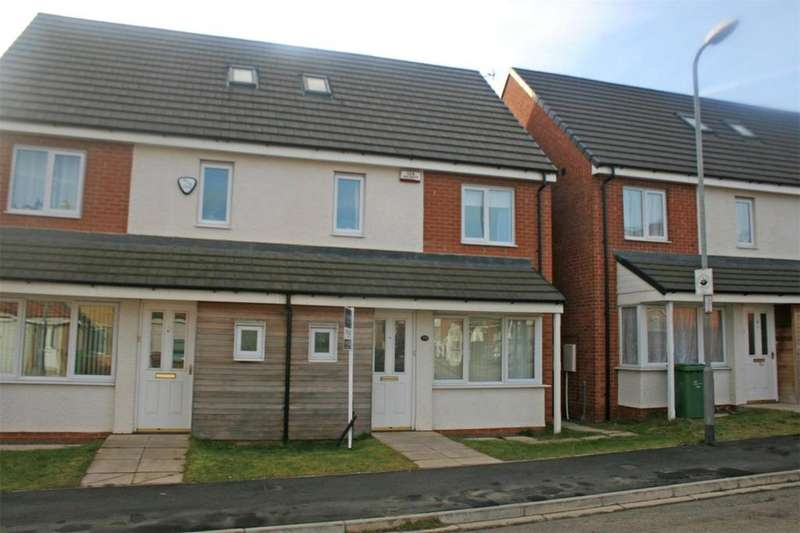 4 Bedrooms Semi Detached House for sale in Overton Way, Stockton On Tees