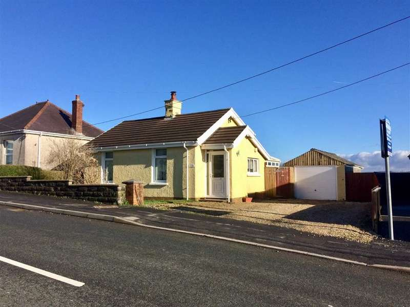 2 Bedrooms Detached Bungalow for sale in Heol Y Meinciau, Pontyates,Llanelli