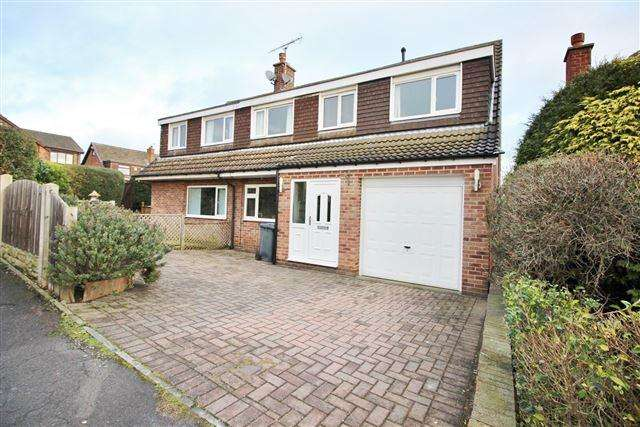 4 Bedrooms Semi Detached House for sale in Finch Rise, Aston, Sheffield, S26 2GE