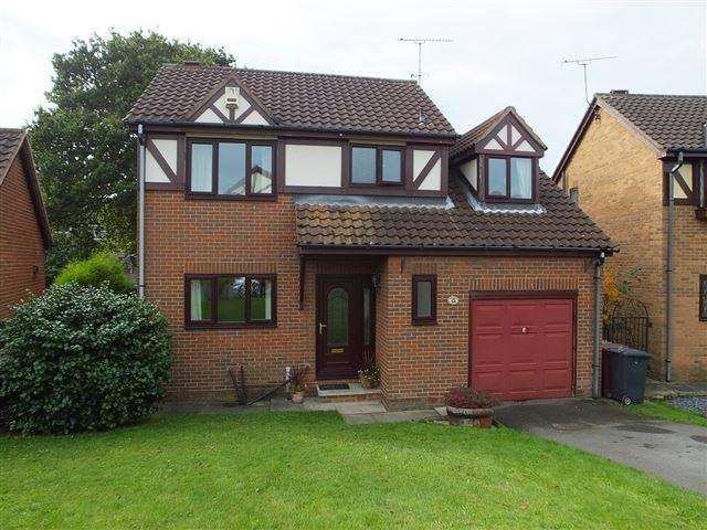 4 Bedrooms Detached House for sale in Foxcroft Drive, Killamarsh, S21 1JN