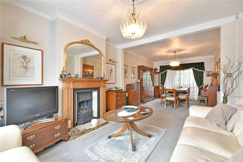 4 Bedrooms House for sale in Cleveland Gardens, Golders Green Estate, NW2