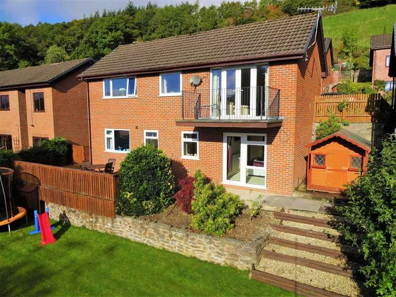 3 Bedrooms Detached House for sale in 23, Brynwood Drive, Milford Road, Newtown, Powys, SY16