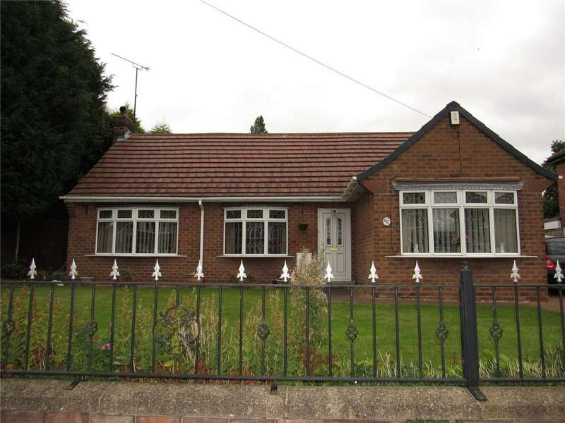 3 Bedrooms Bungalow for sale in Meden Road, Mansfield Woodhouse, Nottinghamshire, NG19