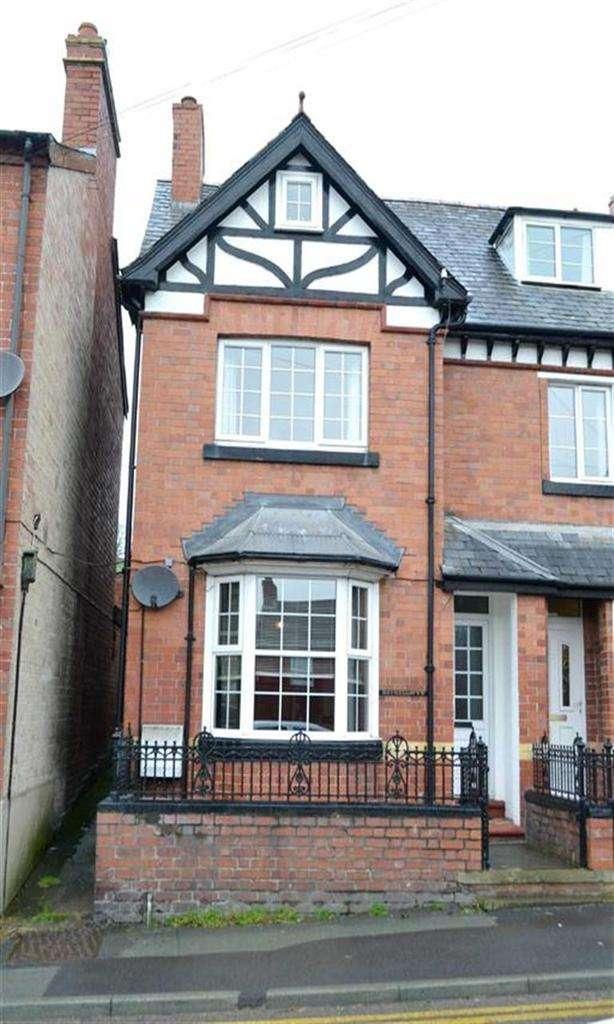 3 Bedrooms End Of Terrace House for sale in Bryneglwys, 7, Llanfair Road, Newtown, Powys, SY16