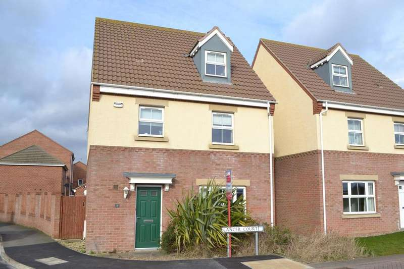 4 Bedrooms Detached House for sale in Lancer Court, Scartho Top, Grimsby, North East Lincolnshire, DN33