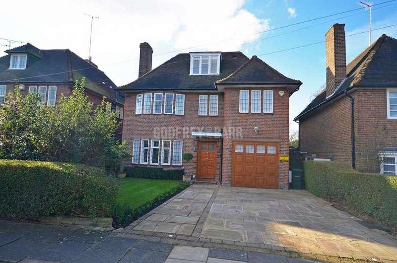 6 Bedrooms Detached House for rent in Kingsley Way, Hampstead Garden Suburb