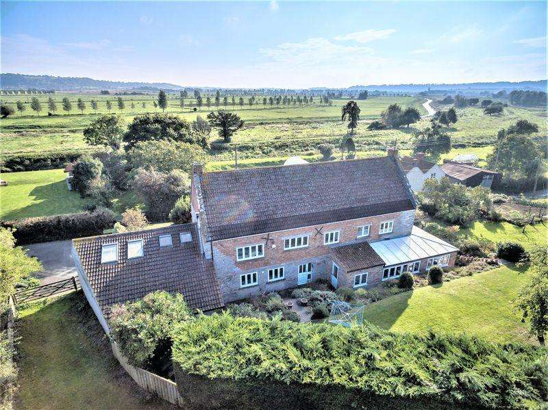 4 Bedrooms Detached House for sale in Stathe, Langport
