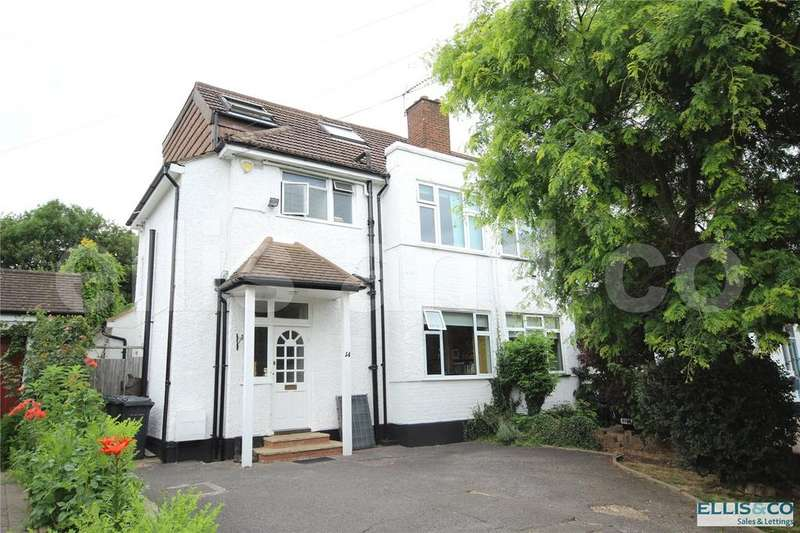 4 Bedrooms Semi Detached House for sale in Wise Lane, Mill Hill, London, NW7