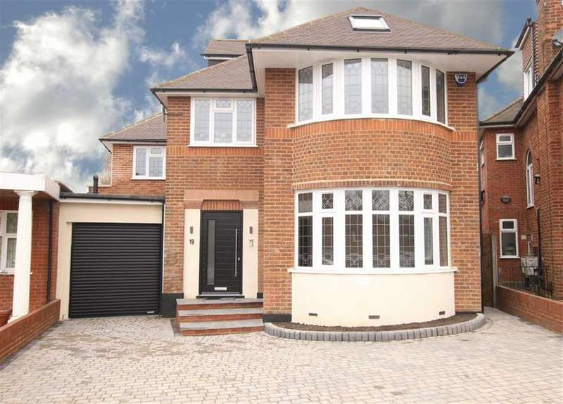 5 Bedrooms Detached House for sale in Twineham Green, Woodside Park, London