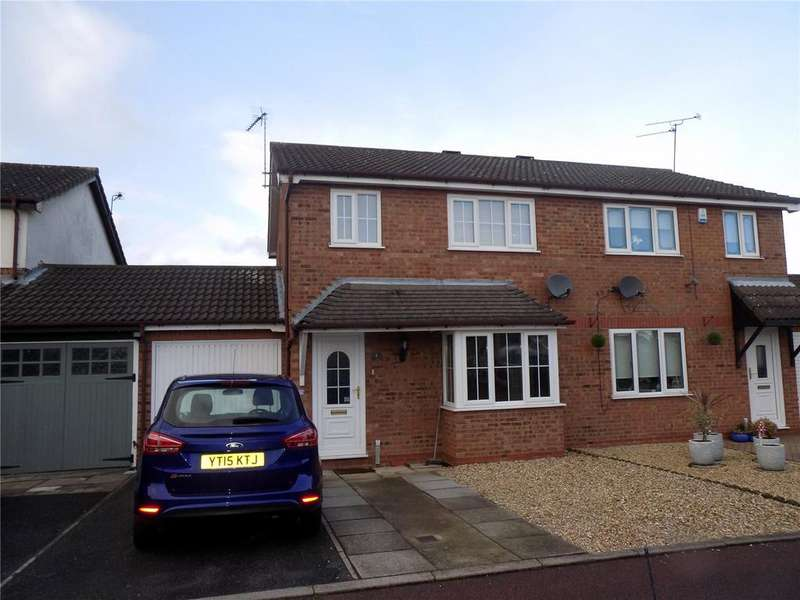 3 Bedrooms Semi Detached House for sale in Briar Close, Worksop, Nottinghamshire, S80