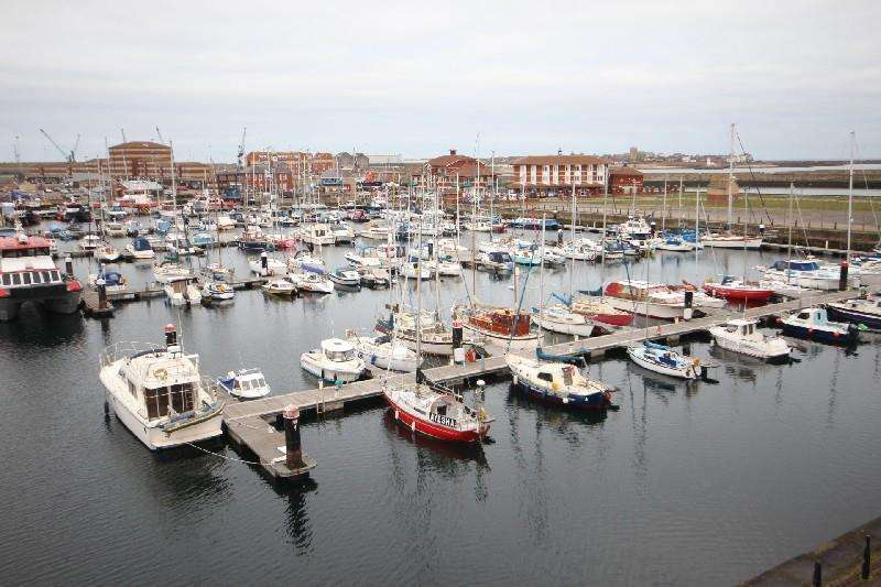 2 Bedrooms Penthouse Flat for sale in Spinnaker House, Marina, Hartlepool
