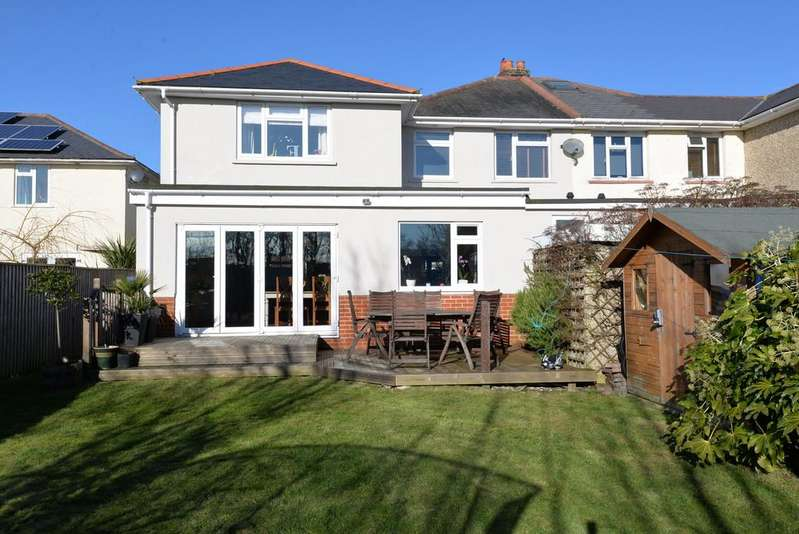 4 Bedrooms Semi Detached House for sale in Bertram Road, New Milton