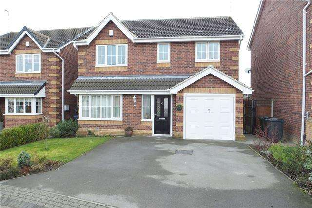 4 Bedrooms Detached House for sale in Pigeon Bridge Way , Swallownest, Sheffield, S26 2GX