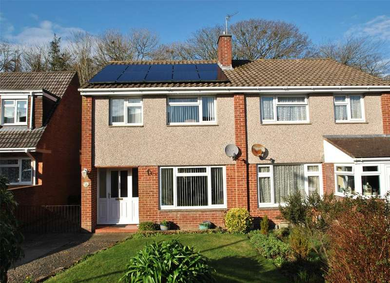 3 Bedrooms Semi Detached House for sale in Meadow Park, Bideford