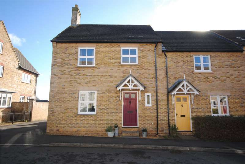 3 Bedrooms End Of Terrace House for sale in Granville Way, Sherborne, DT9
