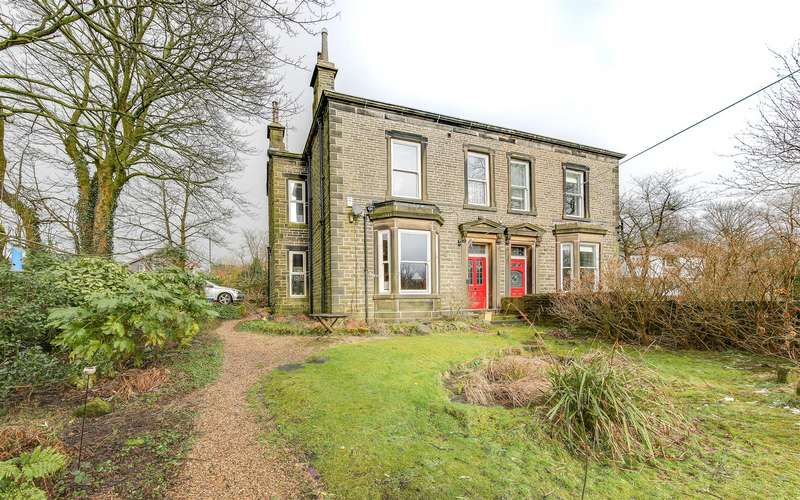 4 Bedrooms Semi Detached House for sale in Clover Hill, Greensnook Lane, Bacup, Rossendale