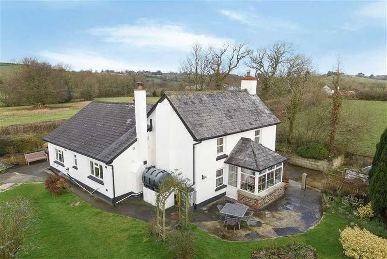 4 Bedrooms Detached House for sale in Broadwoodwidger, Lifton, Devon, PL16