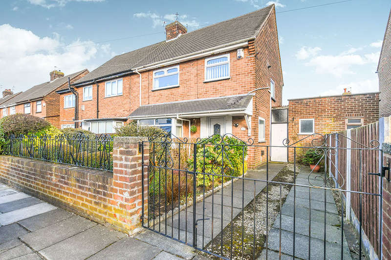 3 Bedrooms Semi Detached House for sale in Grasmere Avenue, Prescot, L34