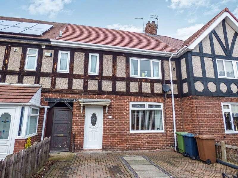 3 Bedrooms Property for sale in Hylton Road, Ford Estate, Sunderland, Tyne and Wear, SR4 7SJ