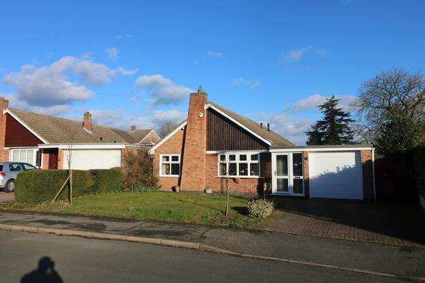 3 Bedrooms Detached Bungalow for sale in Firwood Road, Melton Mowbray, LE13