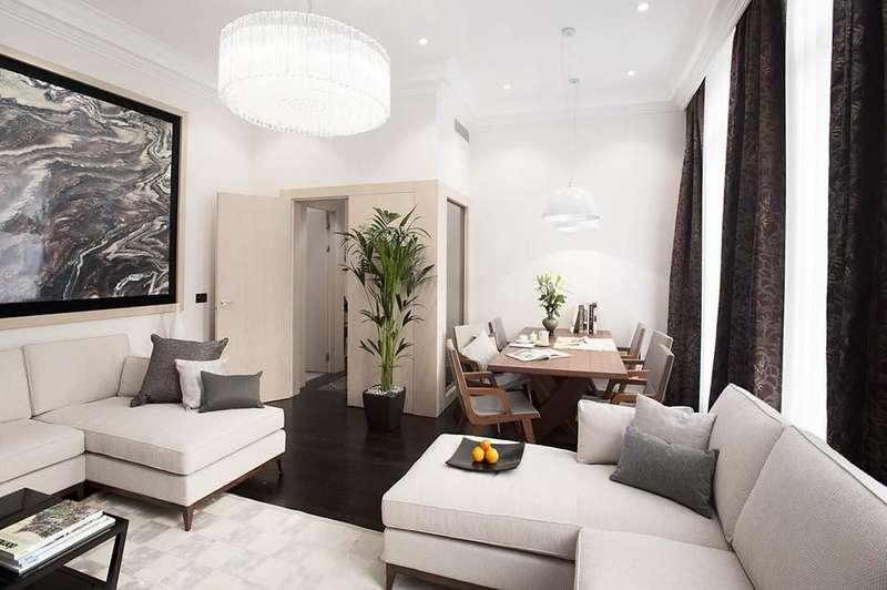 3 Bedrooms Apartment Flat for rent in Beaufort Gardens, Knightsbridge SW7
