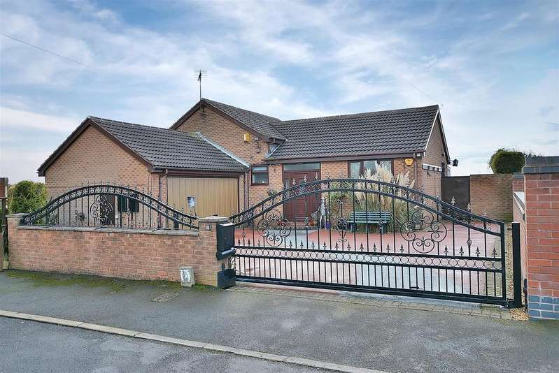 3 Bedrooms Detached Bungalow for sale in Birch Tree Crescent, Kirkby-In-Ashfield