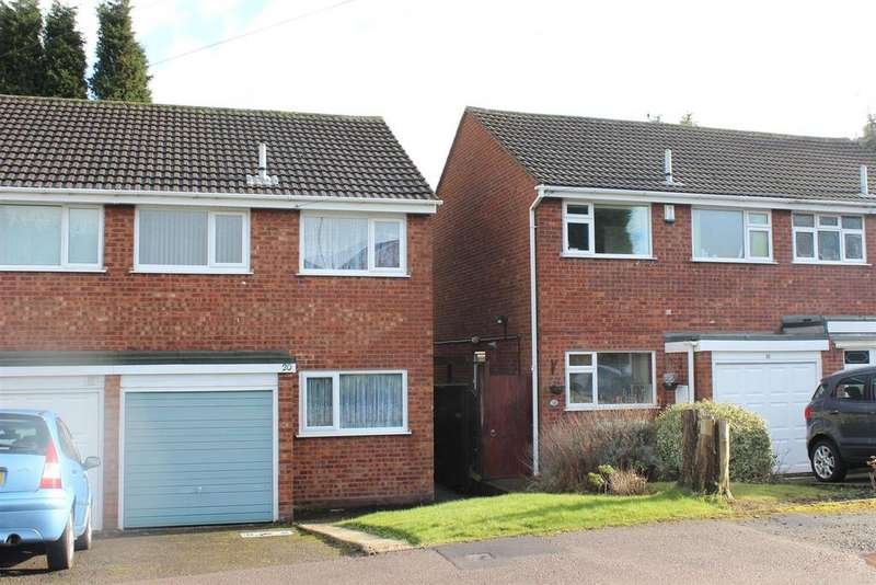 3 Bedrooms Semi Detached House for sale in Tamworth Road, Two Gates, Tamworth