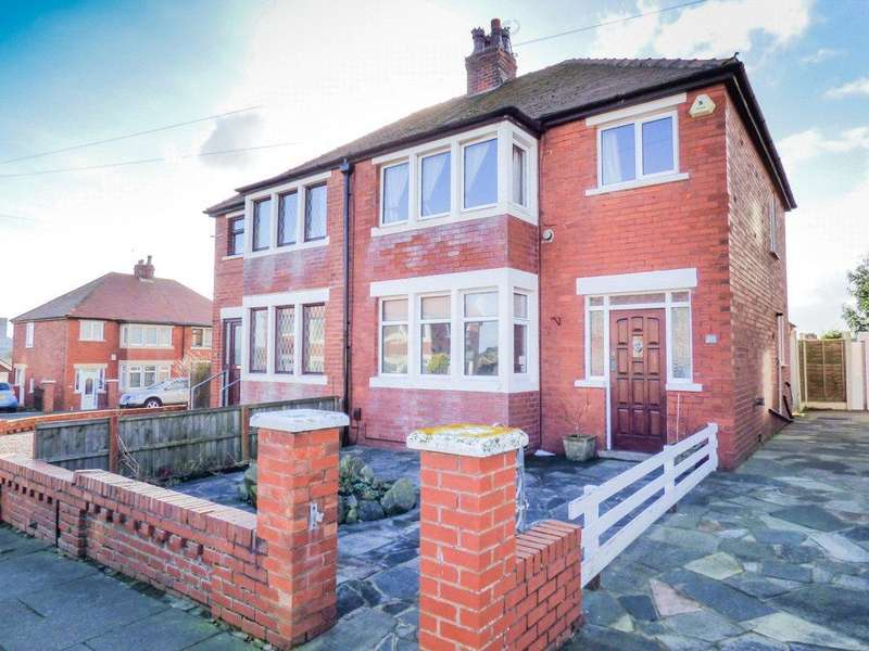 3 Bedrooms Semi Detached House for sale in Kelvin Road, Bispham, Blackpool