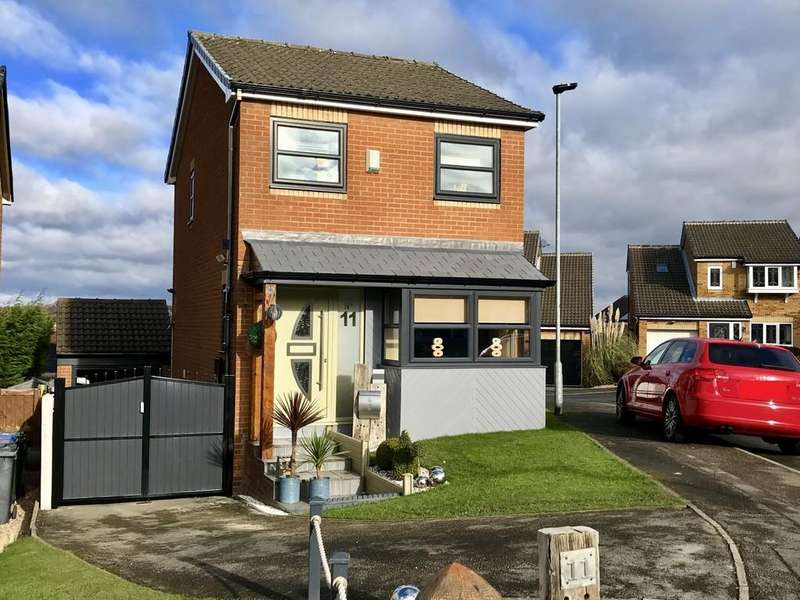 3 Bedrooms Detached House for sale in Rookdale Close, Barnsley S75