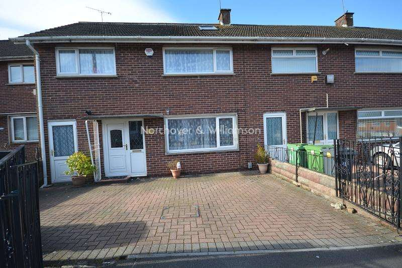 4 Bedrooms Terraced House for sale in Petherton Place, Llanrumney, Cardiff. CF3