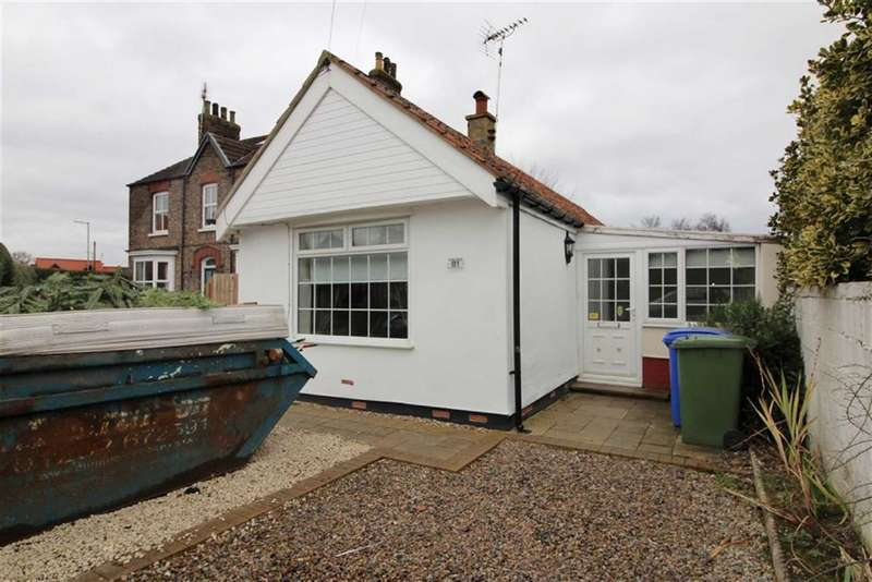 2 Bedrooms Detached Bungalow for sale in Station Road, Nafferton, East Yorkshire
