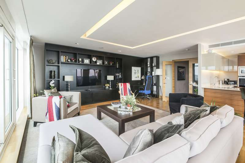 3 Bedrooms Apartment Flat for sale in Ascensis Tower, Battersea Reach SW18