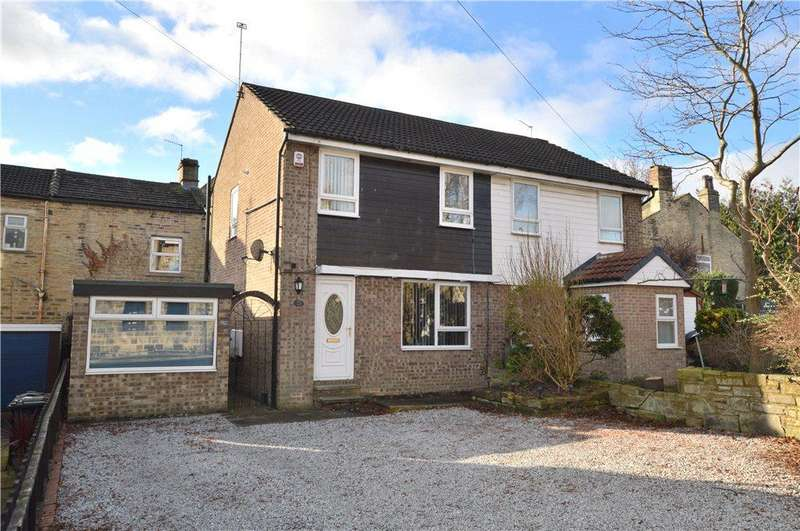 3 Bedrooms Semi Detached House for sale in Sunfield, Stanningley, Leeds