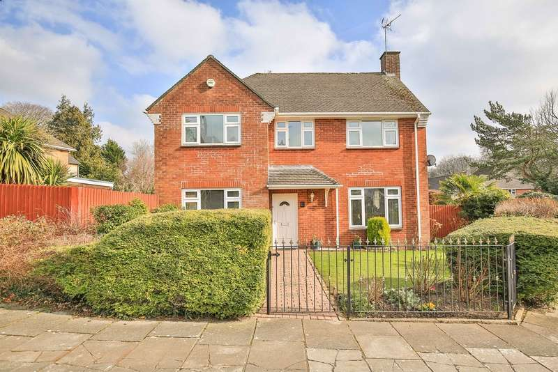 4 Bedrooms Detached House for sale in West Rise, Cardiff