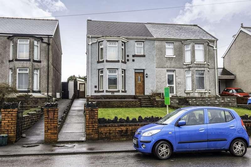 3 Bedrooms Semi Detached House for sale in Crymlyn Road, Skewen, Neath