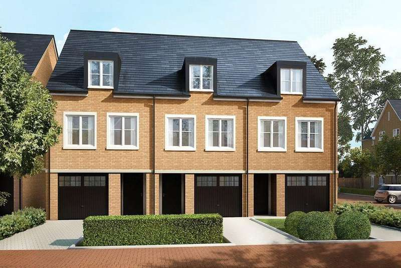 3 Bedrooms Terraced House for sale in Wick Road, Englefield Green, Ascot, Surrey, TW20