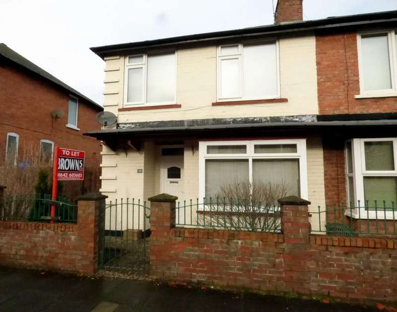 3 Bedrooms Semi Detached House for rent in Ayresome Green Lane, Middlesbrough, TS5