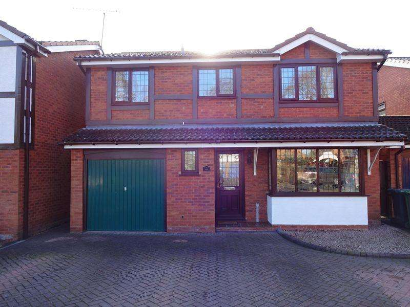 4 Bedrooms Detached House for sale in Kings Road, Kidderminster DY11 6YU