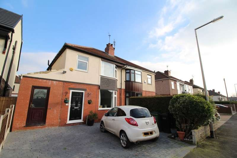3 Bedrooms Semi Detached House for sale in Norbreck Avenue, Cheadle, SK8