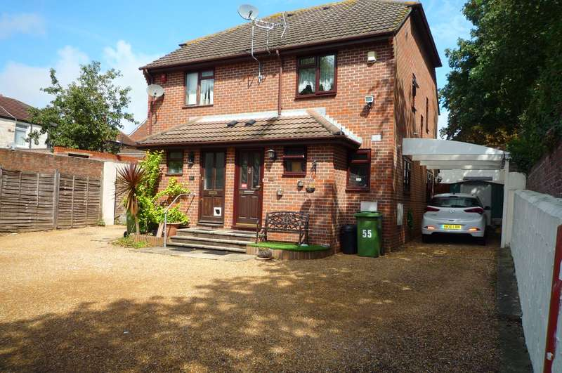 2 Bedrooms Semi Detached House for rent in Park Lane, Cosham, Portsmouth